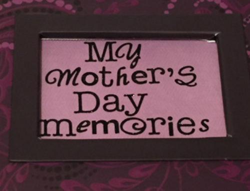 My Mother's Day Memories Scrapbook